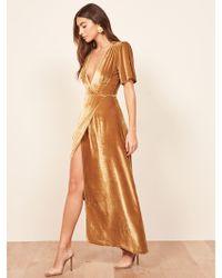 Reformation - Tiffany Dress - Lyst
