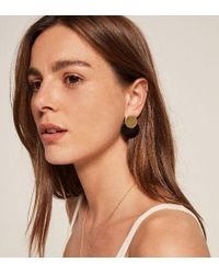 Reformation - Soko Contrast Coin Stud - Lyst