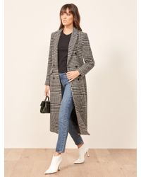 Reformation - Middlebury Coat - Lyst