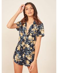 Reformation - Oahu Two Piece - Lyst