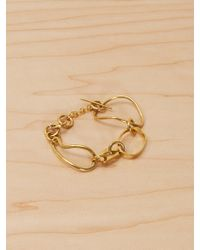 Reformation - Soko Dabi Linked Bracelet - Lyst