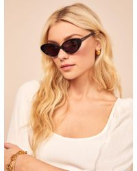 Reformation - Velvet Canyon Ruby Tuesday Sunglasses - Lyst