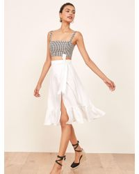 Reformation - Date Skirt - Lyst