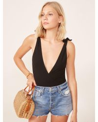 Reformation - Macey Bodysuit - Lyst
