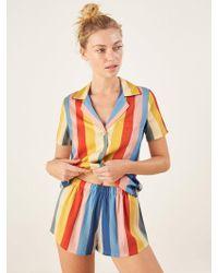 Reformation - Short Pyjama Set - Lyst