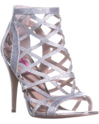 Betsey Johnson - Juliette Strappy Ankle Booties - Lyst