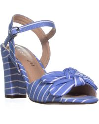 75a81b7dbd2 Madden Girl - Mg35 Bows Double Bow Tie Ankle Strap Sandals - Lyst