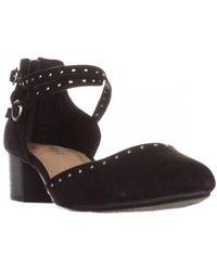 Esprit - Shiloh Ankle-strap Low-heel Pumps - Lyst