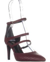 Charles David - Lena Multi Strap Pointed Toe D'orsay Heels - Lyst
