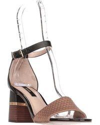Kensie - Estan Ankle Strap Block Heel Dress Sandals - Lyst