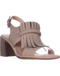 G.H.BASS - Reagan Block Heel Dress Sandals - Lyst