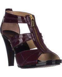 Michael Kors Michael Berkley T-strap Dress Sandals - Multicolor