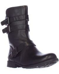 Born - Buckley Buckle Strap Mid-calf Boots - Lyst
