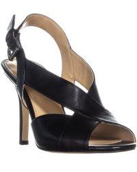 00fb9e47ac92 Michael Kors - Michael Becky Cross Strap Dress Sandals - Lyst