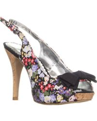 Rampage - Girasole Slingback Platform Court Shoes - Lyst