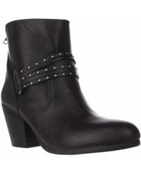 Aerosoles - Longevity Studded Ankle Booties - Lyst