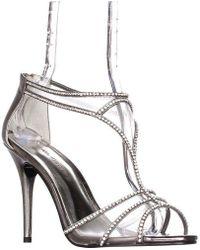 Caparros - Bluebell Mesh T-strap Sparkle Dress Sandals - Lyst