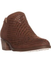 Naturalizer - Zenith Perforated Ankle Booties - Lyst