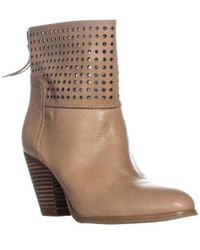 Nine West - Hippychic Perforated Ankle Boots - Lyst