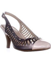 Rialto - Martina Cutout Slingback Court Shoes - Lyst