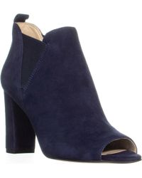 Marc Fisher - Sayla Peep Toe Ankle Booties - Lyst