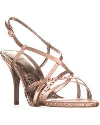 Adrianna Papell - Acacia Rhinestone Strappy Dress Sandals - Lyst