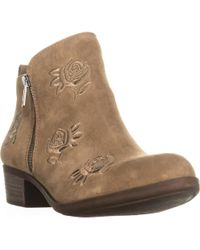 Lucky Brand - Basel5 Side-zip Ankle Booties - Lyst