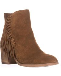 Kenneth Cole - Reaction Rotini Side Fringe Ankle Boots - Lyst