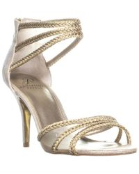 Adrianna Papell - Adler Braided Strappy Sandals - Lyst