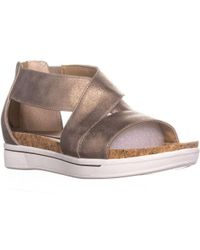Adrienne Vittadini - Claud Flat Comfrot Sandals - Lyst