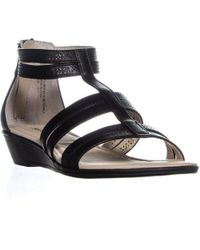 Rialto - Greer Perforated Gladiator Sandals - Lyst