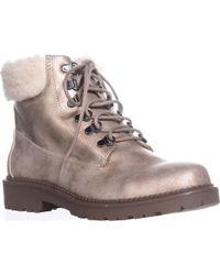 Esprit - Candis Wool Cuff Work Boots - Lyst