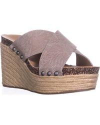 Lucky Brand - Neeka Slide Wedge Sandals - Lyst