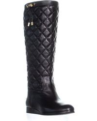 Michael Kors - Michael Lizzie Quilted Tall Boots - Lyst