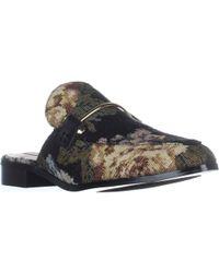 33616992b6f Steve Madden Laaura Backless Loafer in Gray - Lyst