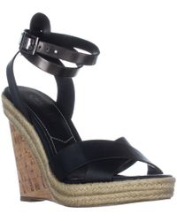 Charles David - Charles Charles David Brit Wedge Sandals - Lyst