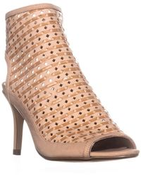 Nina - Original Kristene Zip Up Heeled Sandals - Lyst