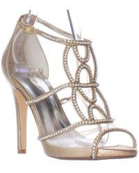 Caparros - Ellen Rhinestone Strappy Dress Sandals - Lyst