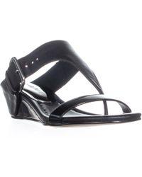 Donald J Pliner - Doli4 Wedge T-strap Sandals - Lyst
