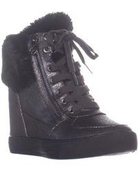 3448032038d Guess - Dustyn Hidden-wedge Fashion Sneakers - Lyst