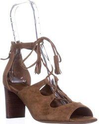 Lauren by Ralph Lauren - Hasel Lace Up Dress Sandals - Lyst