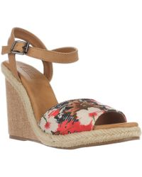 Mojo Moxy - Dolce By Posey Espadrille Wedge Sandals - Lyst