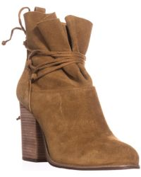 Jessica Simpson - Satu Ankle Tie Slouch Ankle Boots - Lyst