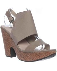 Naya - Misty Slingback Wedge Sandals - Lyst