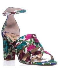 Jerome C. Rousseau - Abelline Block Heel Sandals - Lyst
