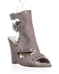 Jessica Simpson - Maack Buckle Cut Out Sandals - Lyst