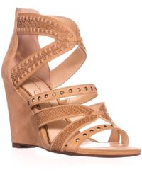Jessica Simpson - Zenolia Strappy Wedge Sandals - Lyst