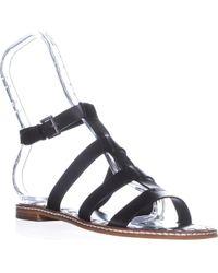 d7f5a12af Michael Kors - Michael Fallon Flat Sandal Gladiator Sandals - Lyst