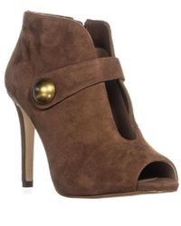 Michael Kors - Michael Agnes Studded Cut-out Pointed Toe Heels - Lyst