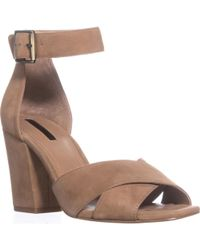 Tahari - Ponder Ankle Strap Court Shoes - Lyst